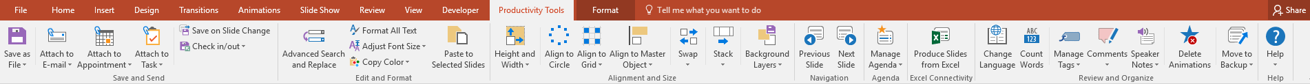 Useful additional features for PowerPoint.